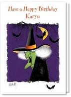 Halloween Birthday Card #2002760-P